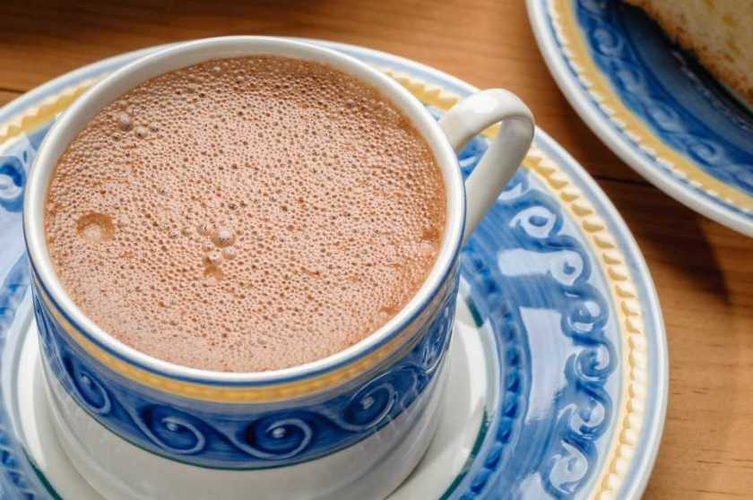 Chocolate quente mexicano (México)