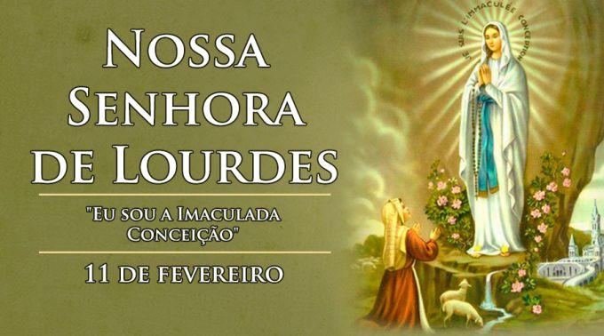 Segundo a história narrada pela Igreja Católica, as primeiras aparições de Nossa Senhora de Lourdes começaram quando a jovem camponesa Marie-Bernard Soubirous, hoje conhecida como Santa Bernadete, tinha apenas 14 anos de idade. #Dia de #Nossa #Senhora de #Lourdes